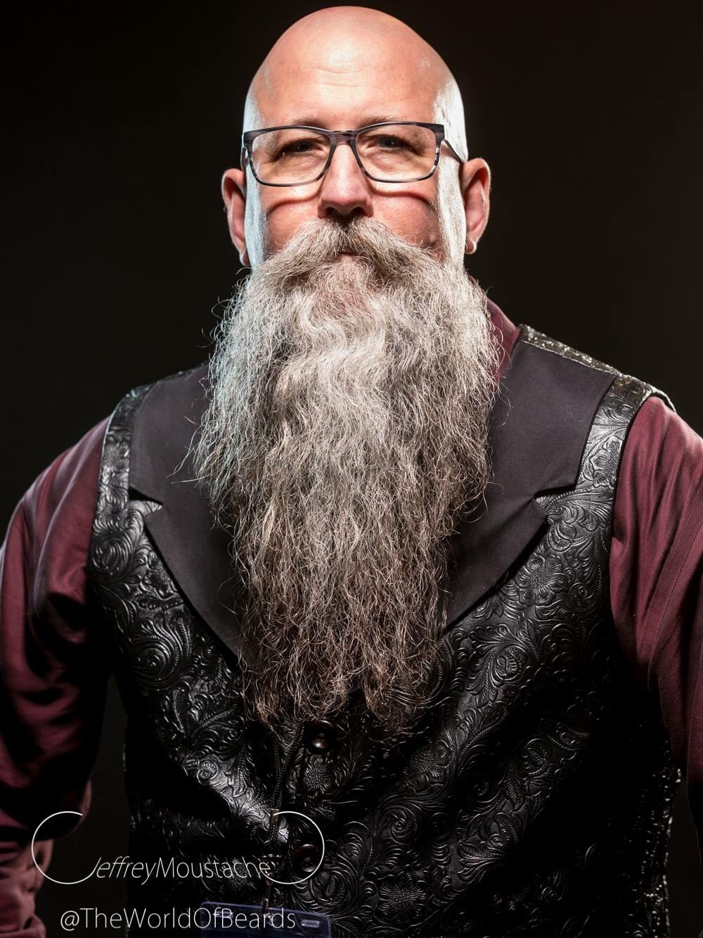 Jeff Raye Sergeant-at-Arms   photo:    Jeffrey Moustache | The World of Beards