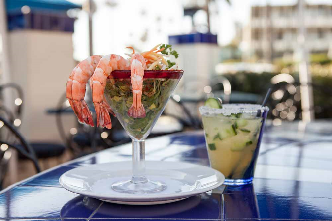 las brisas shrimp cocktail