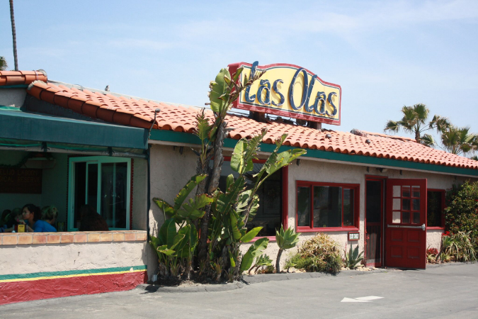 las olas mexican cardiff by the sea