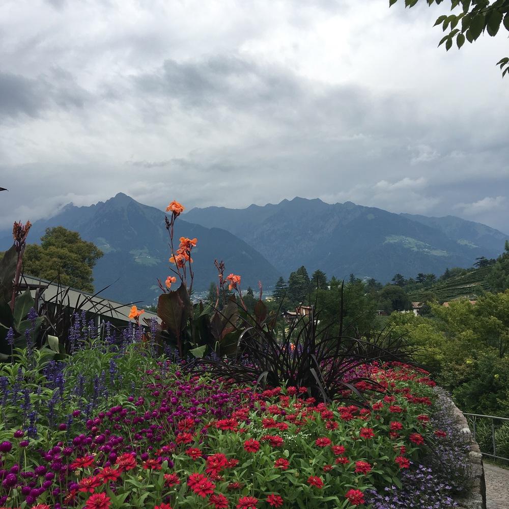 traus gardens merano south tyrol italy