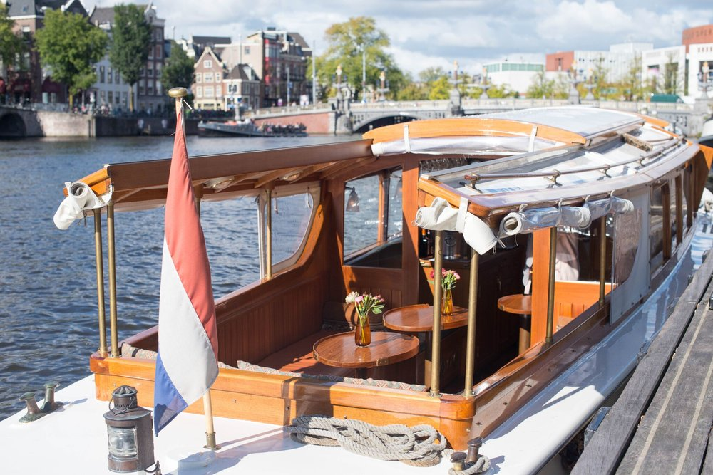 private boat tours amsterdam