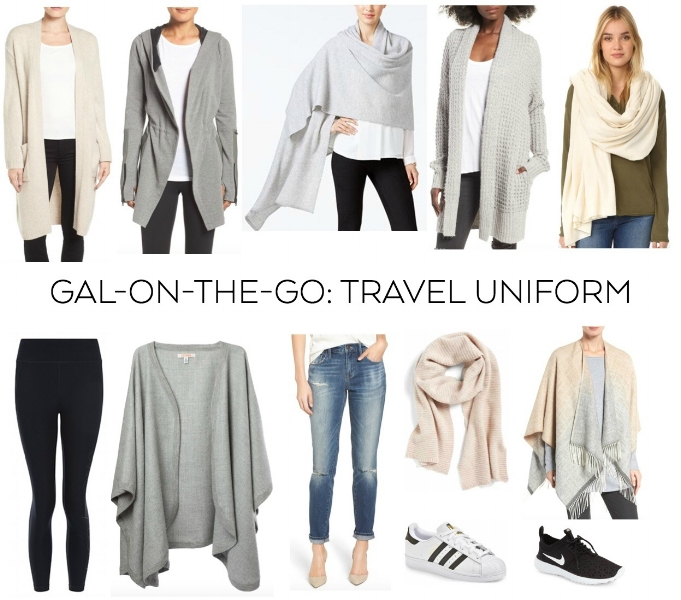 travel uniform gal on the go