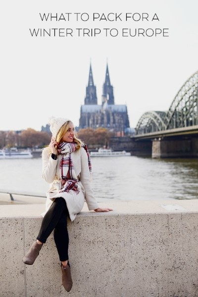 what to pack for a trip to europe in winter