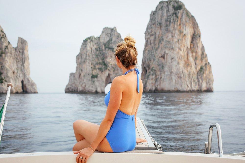 capri relax boats capri italy