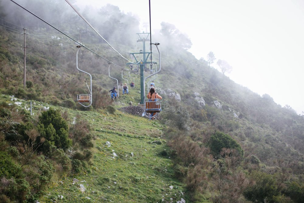 chair lift capri italy