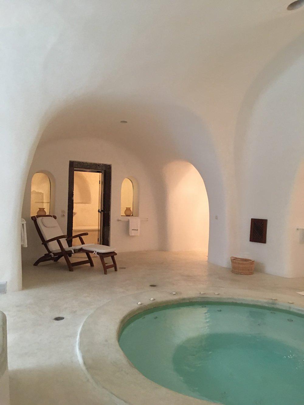 perivolas lifestyle houses oia santorini greece