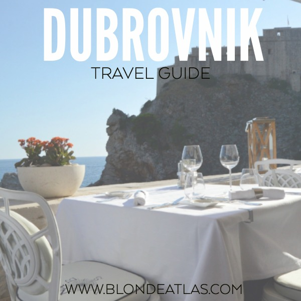 DUBROVNIK CROATIA TRAVEL GUIDE