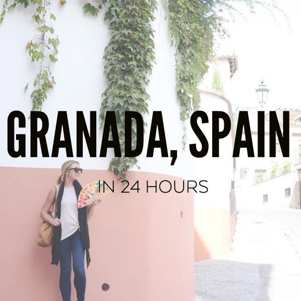 GRANADA SPAIN IN 24 HOURS