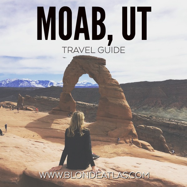 moab utah travel guide