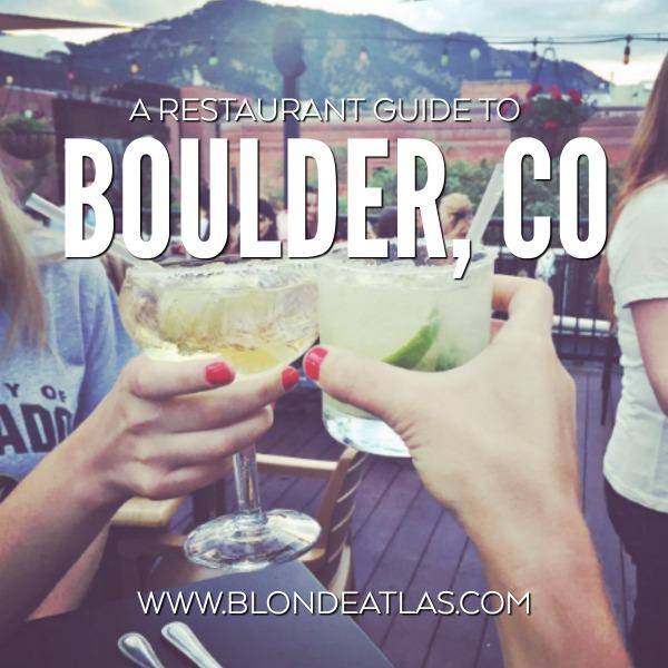 boulder restaurant guide