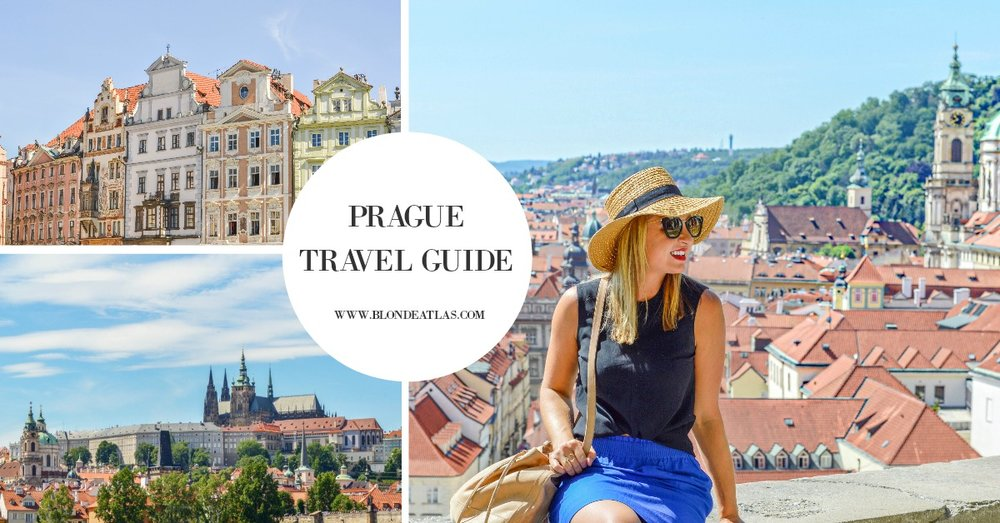 BLONDE ATLAS PRAGUE TRAVEL GUIDE