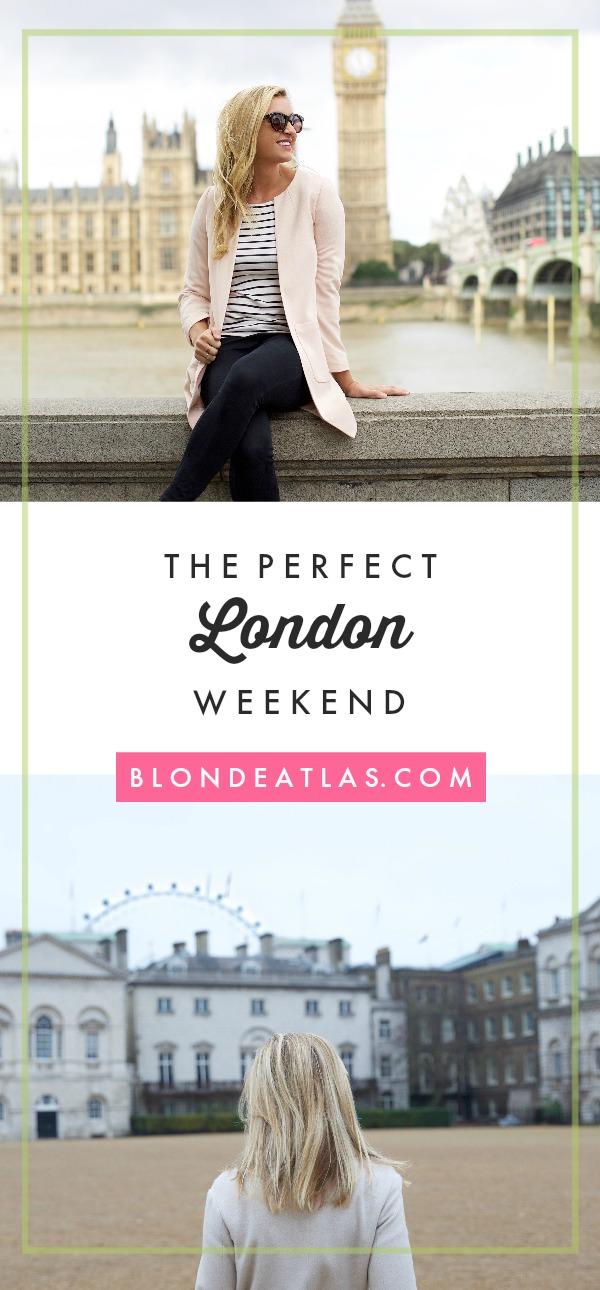 a weekend in london