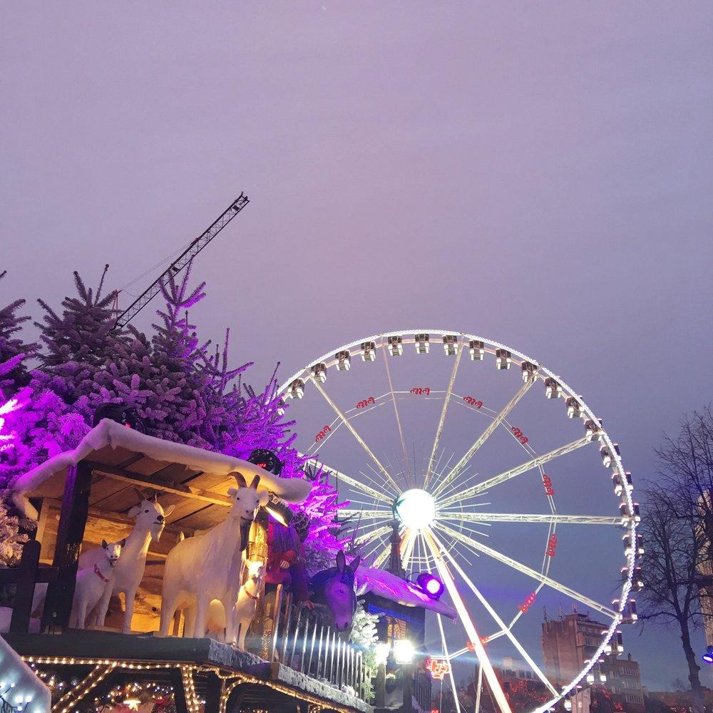 BRUSSELS BELGIUM CHRISTMAS MARKET