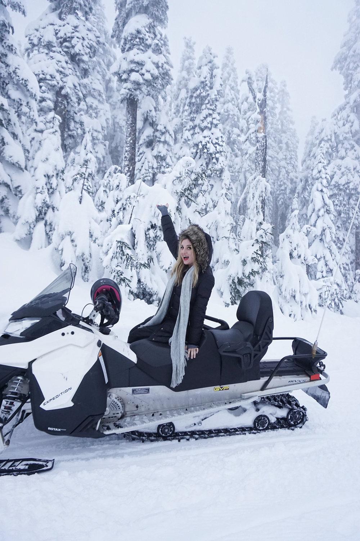 SNOWBOOTS: TARGET ,  COAT: MICHAEL KORS ,  SCARF: NORDSTROM ,  HAT: NORDSTROM