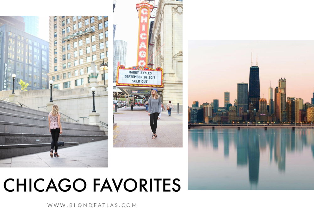 CHICAGO FAVORITES BLONDE ATLAS