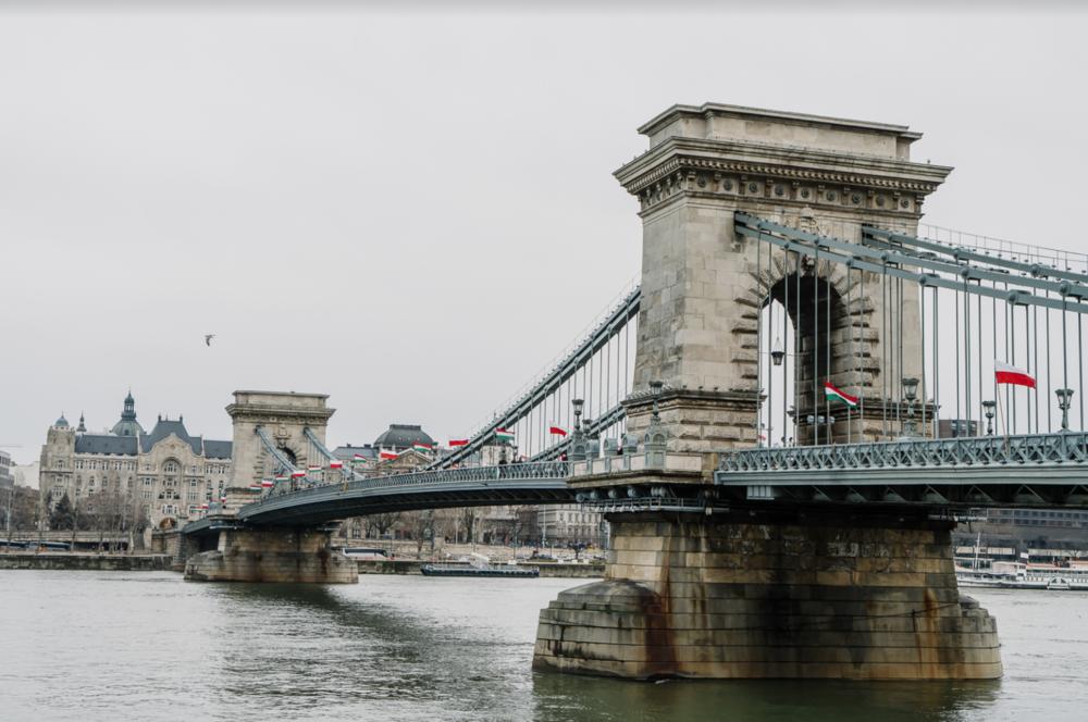 Széchenyi Chain Bridge budapest hungary