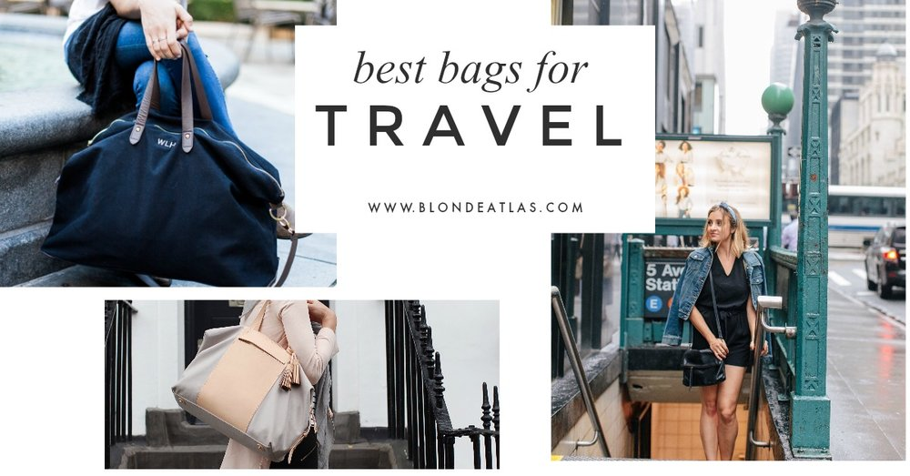 BEST TRAVEL BAGS BLONDE ATLAS