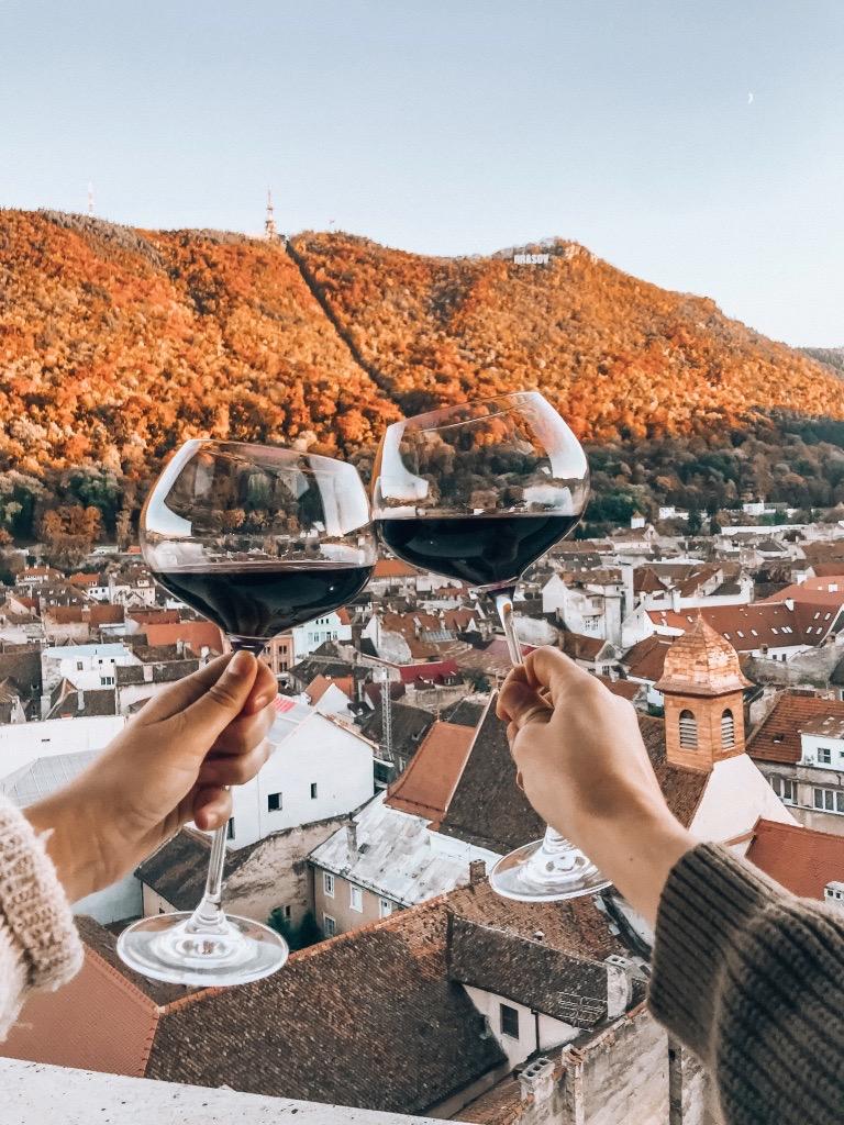 Brasov Romania Rooftop