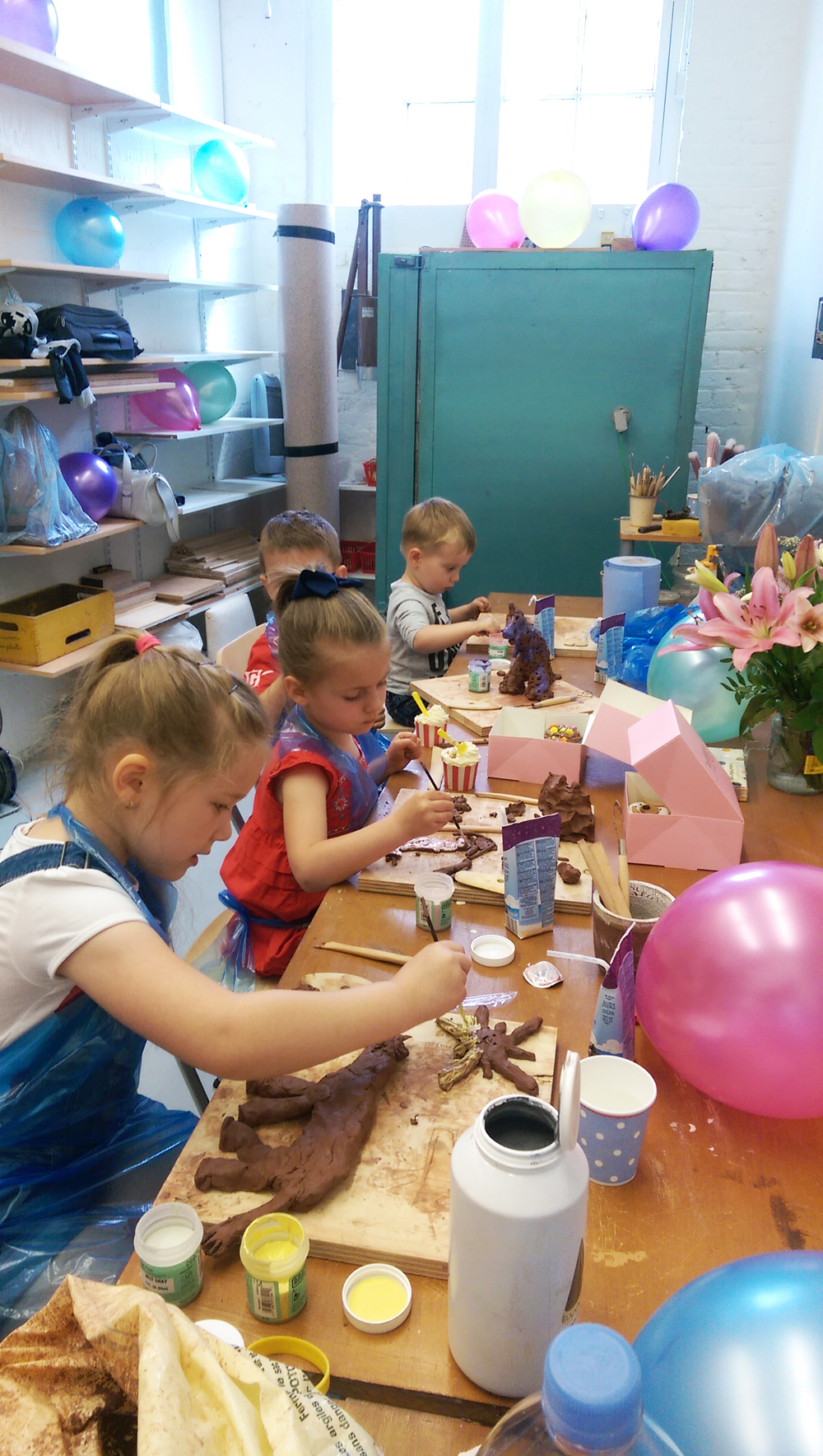 Kids Clay Party
