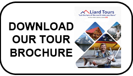 Tour brochure liard tours nahanni, northern bc fishing, virginia falls outpost cabins