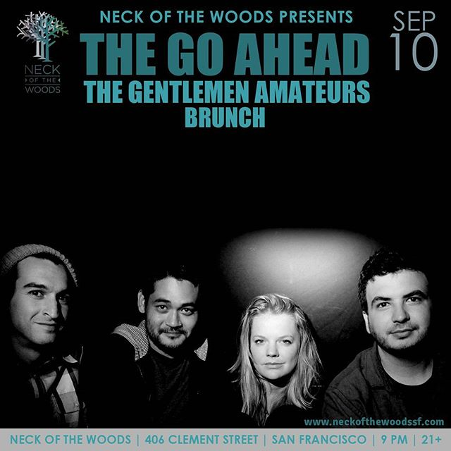 @thegoahead returns from their #HeadingNorth #Tour tonight with a #hometown #show at @nowmusicsf!  #TheGoAhead #Return #SanFrancisco #NeckOfTheWoods #HeadingNorthTour #YouCantFakeAwesome #BarbRocks #NemesisMedia