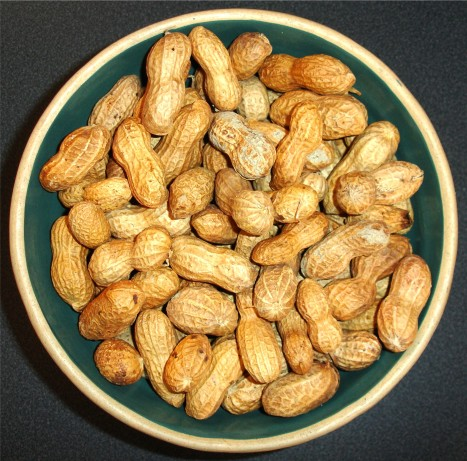 from http://southern.food.com/recipe/basic-oven-roasted-peanuts-238625