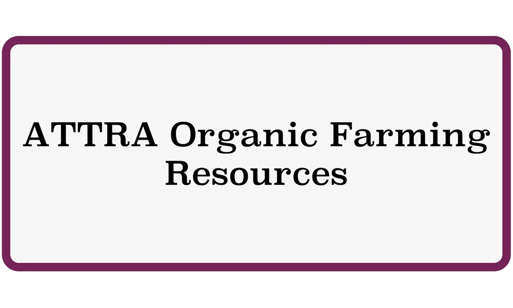 ATTRA Organic Farming Resources