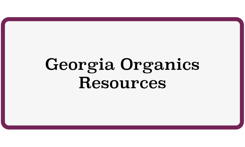 Georgia Organics Resources