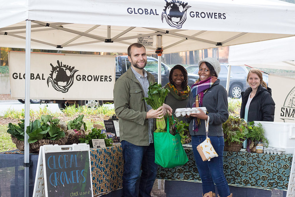 Each week, we host a convenient, farmers market-style pick up at locations around Metro Atlanta.