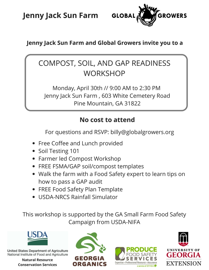 Jenny Jack Farm and Global Growers workshop