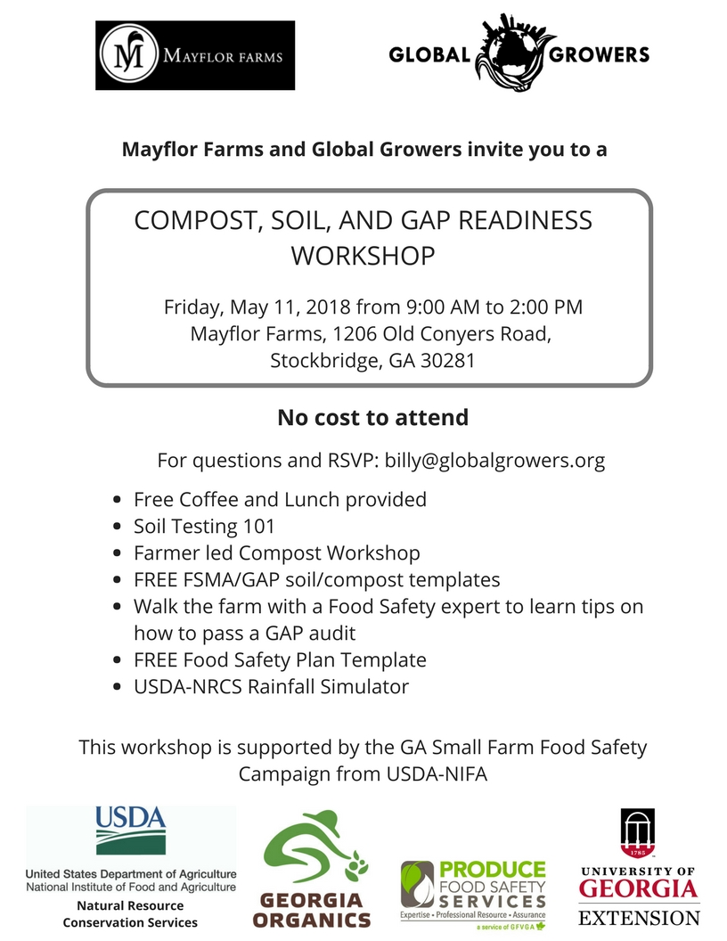 Mayflor Farm and Global Growers workshop