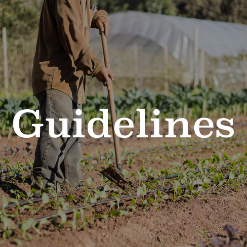 Global Growers Farm Share Guidelines