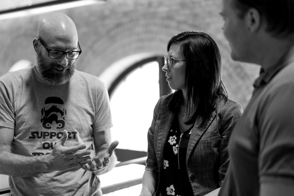 Brett McKenzie, Relationship Manager | Jazmine Kempston, Director of Customer Engagement | Paul MacLean,Intermediate Developer