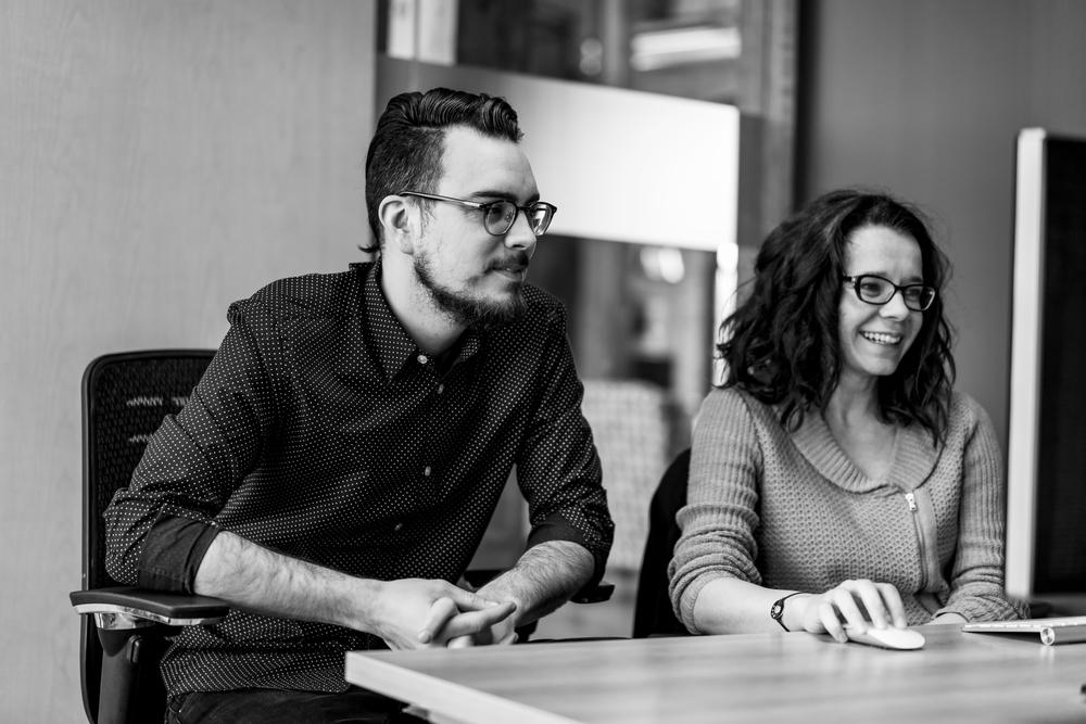 Andy Ratz, Art Director |Rachel Berdan, VP Customer Engagement