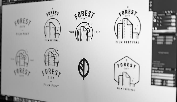 Forest City Film Fest Branding