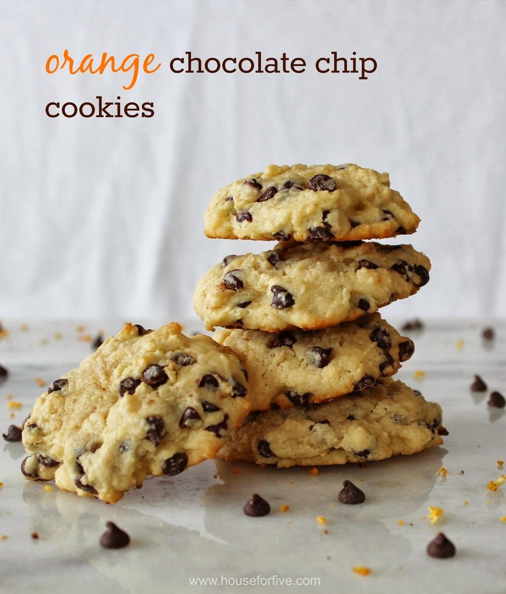 orange chocolate chip cookie recipe