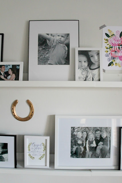 IKEA picture ledges, photo gallery