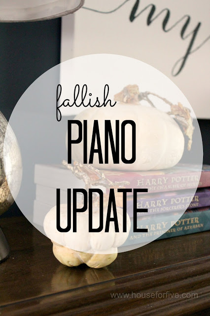 fall piano update