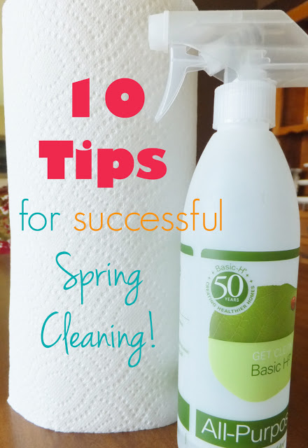 10 Tips for successful Spring Cleaning!