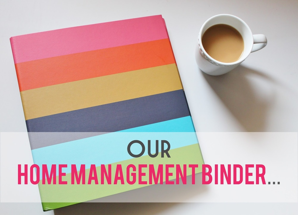 The Home Management Binder That Could House For Six