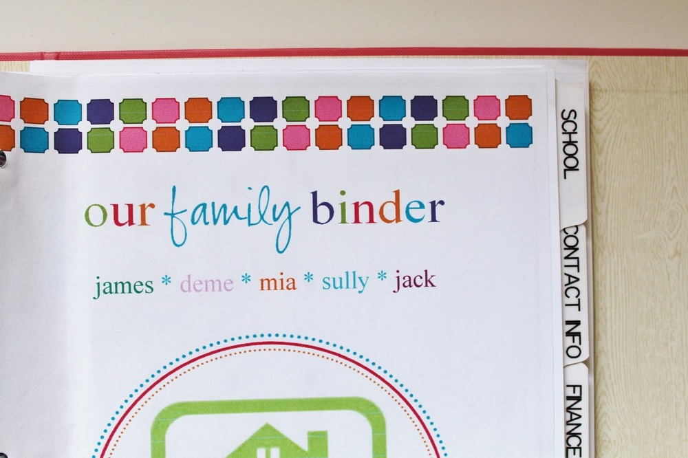 The Home Management Binder That Could — House For Six