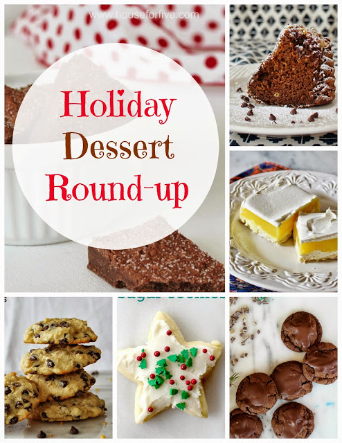 Yummy round up of easy holiday desserts!