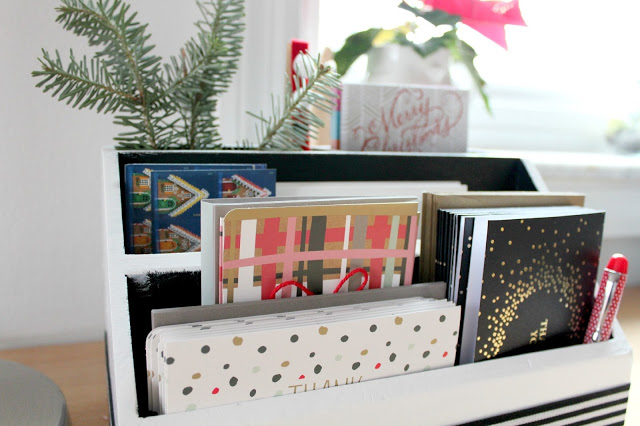 Holiday card station