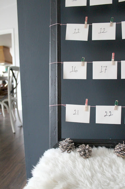 DIY Advent activity calendar