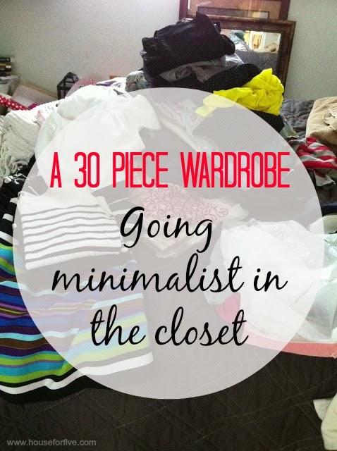 Purging The Closet: A 30-Piece Wardrobe & Free Printable