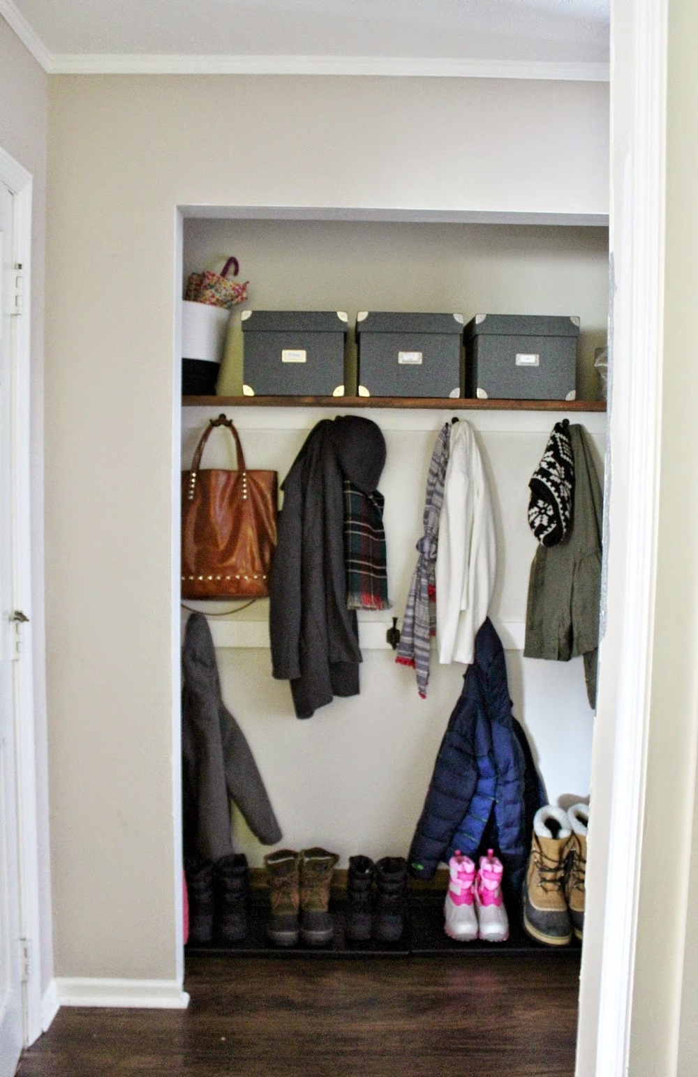 Superieur Coat Closet Makeover