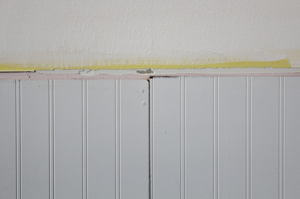 Working With A Bad Beadboard Installation Job House For Six