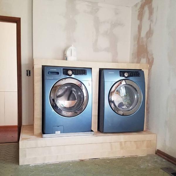 laundry platform