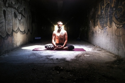 Treven Hooker  Teacher  Treven believes that practicing yoga is not about what you can or cannot do. Rather, practicing yoga is about showing up on your mat to give care and compassion to your self. Treven is a 200hr RYT and his teaching aims to offer a clarity and calmness of mind, body and soul.