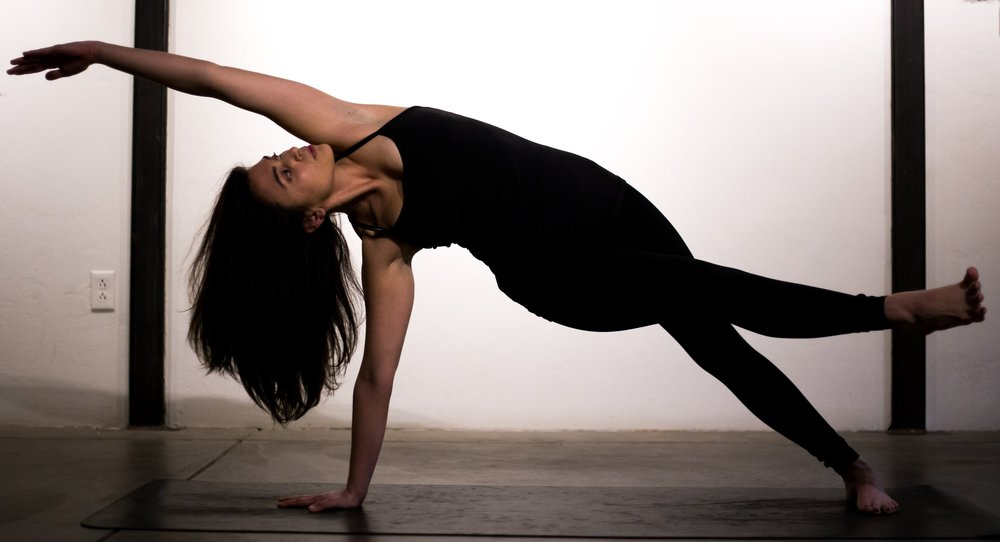 Amelia is RYT200 with a BA in Psychology. She leads all level vinyasa flow classes that incorporate mindfulness, psychology, humor and breath work. Amelia's yoga classes are playful and offer tools to use on and off the mat and are especially beneficial in building coping skills to manage depression and anxiety.
